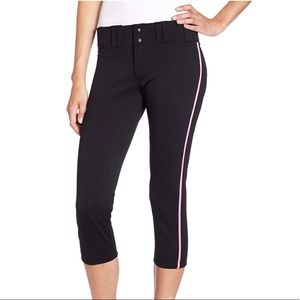 Sturdy Microfiber Pro Ribbed Low Rise Active Pants
